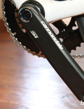 Looks the part, and Cannondale say it's as light as the first CNC Hollowgram, but way stiffer