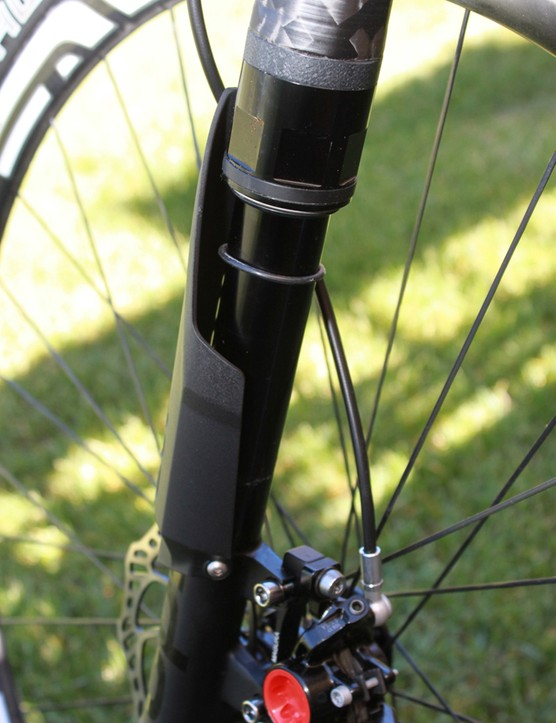 Setting sag is easy with the new round leg and O-ring; this may be one of our favorite features of the new fork