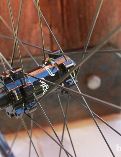 The Black Flag Pro SL wheels share new hubs with the Charger Pro SL wheels