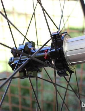 Inside lies the new four-pawl freehub mechanism, which produces a narrower, 7.5-degree engagement