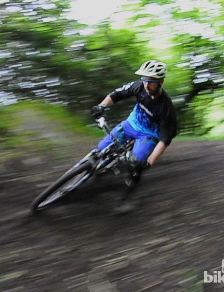 Rob Weaver on the Norco Sight 1