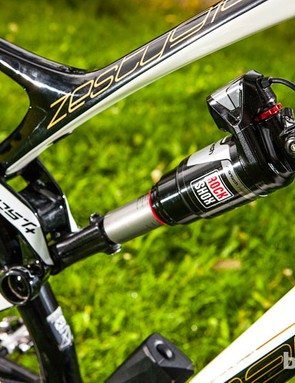 The E.I shock autmotically adjusts to your riding conditions