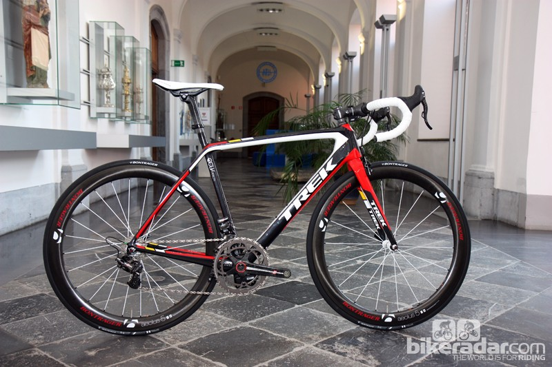 Trek's new Madone 7-Series is supposedly more aerodynamic, lighter, and more comfortable than its predecessor.