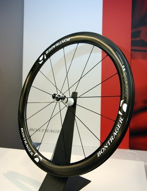 Bontrager introduced the Aeolus 5 D3 carbon clincher wheelset last year