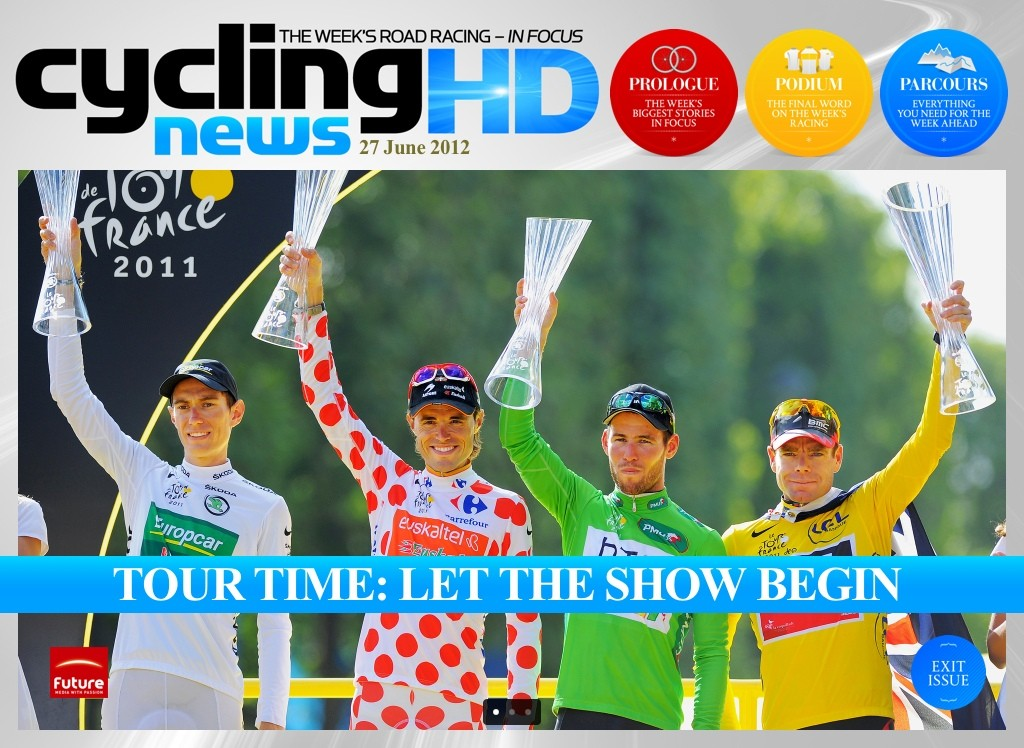 The Tour de France 2012 is nigh