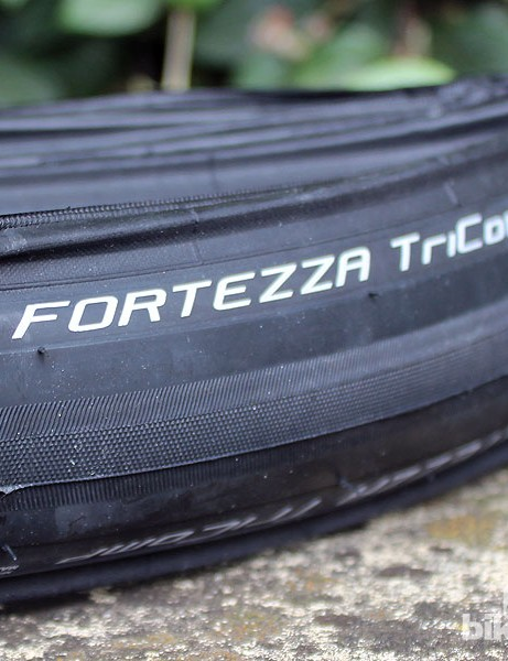 Vredestein's Fortezza TriComp tyre is designed for all-weather competition. It now comes in this 700x25c size
