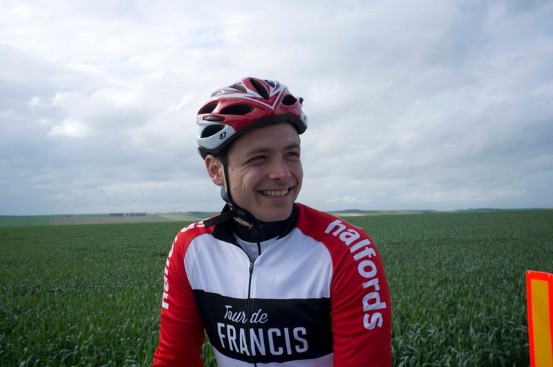 Dan was a keen cyclist before the Tour de Francis, but found the project enjoyably challenging