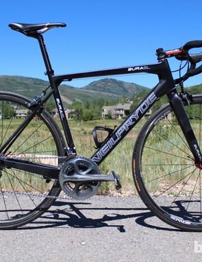 The 740g BURAsl is NeilPryde's third bike frame
