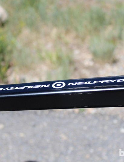 NeilPryde have been working with carbon fiber for three decades in watersports, but the company are fairly new to bicycles