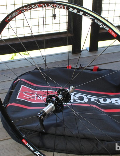 The new ZTR Iron Cross cyclo-cross wheel