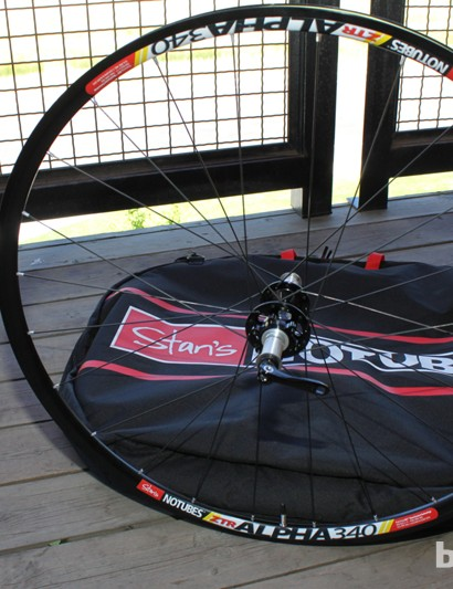 The Alpha 340 Disc, missing a rim brake track