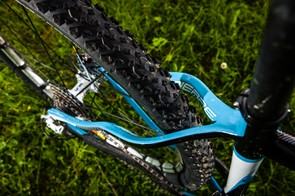 Launched for 2012, the 2013 Pro Race 29 gets wider stays to accept 2.2in tires