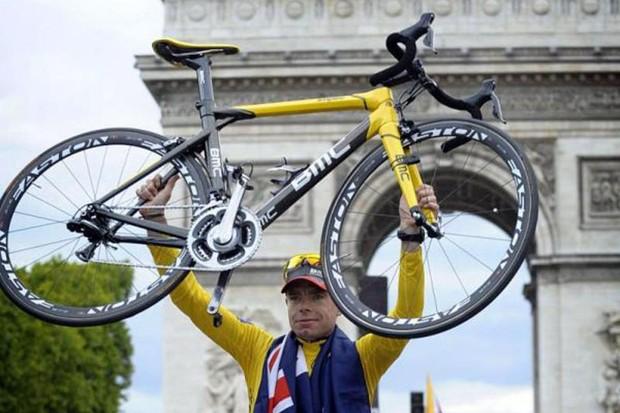 Evans also used BMC's radical Impec during his successful 2011 Tour de France campaign
