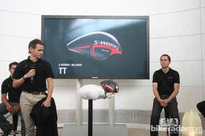 The S-Works McLaren TT presentation at the McLaren Technology Centre
