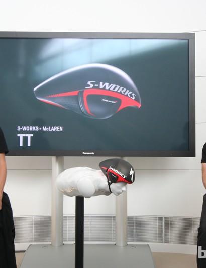 The S-Works McLaren TT presentation at the McLaren Technology Centre
