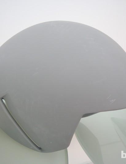 A final prototype of the S-Works + McLaren TT's shape