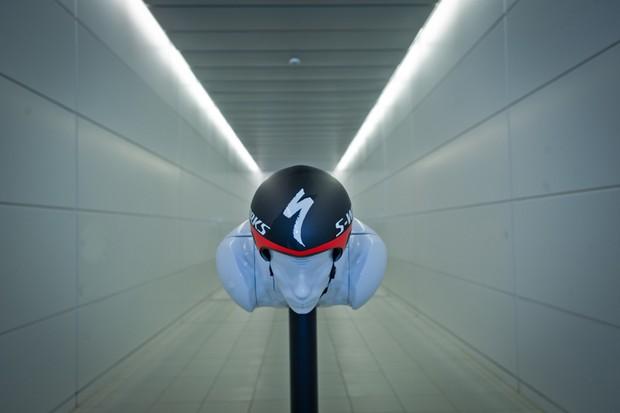The S-Works + McLaren TT helmet promises new levels of aerodynamics from a helmet
