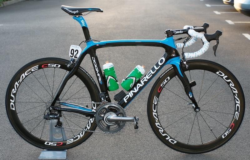 Team Sky will continue with Pinarello in 2013