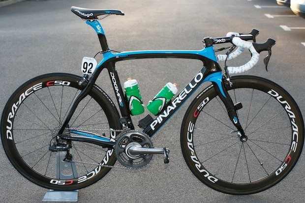 Team Sky will continue with Pinarello in 2013