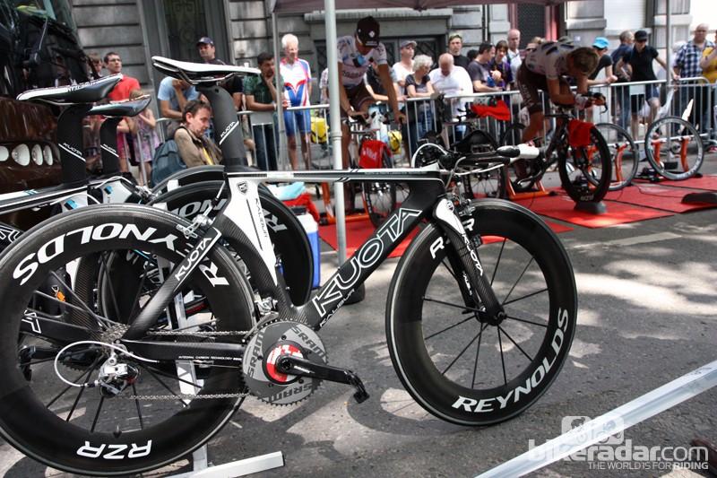 Ag2r-La Mondiale's Kuota Kalibur time trial bike