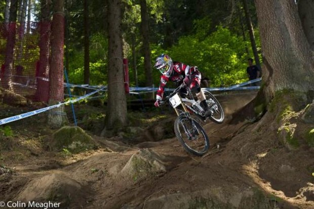 Aaron Gwin (Trek World Racing) has dominated all season long