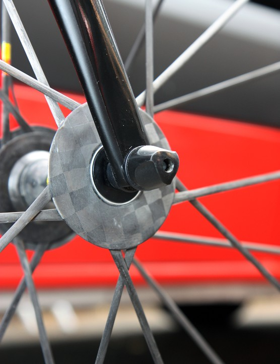 Fork tips are now carbon fiber on Canyon's next-generation Ultimate CF SLX