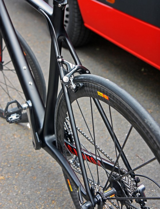 The seat stays are still as pencil-thin as before