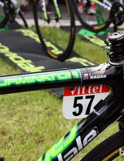 Peter Sagan (Liquigas-Cannondale) used to be known as the 'Terminator' but now he's the 'Tourminator'