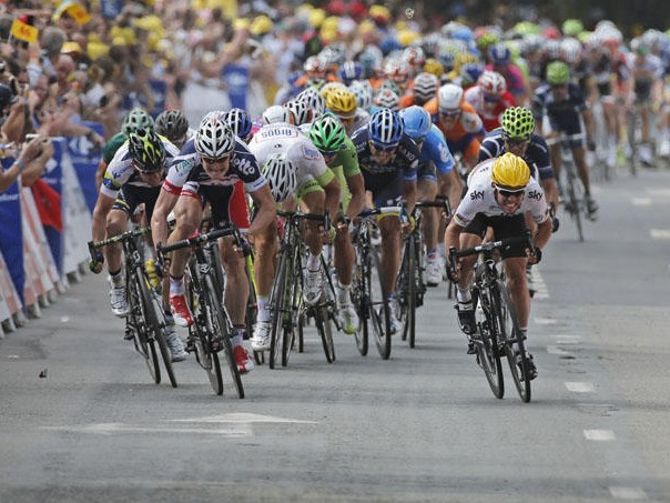Cavendish proved he was more than capable of notching up stage wins even without a sprint train