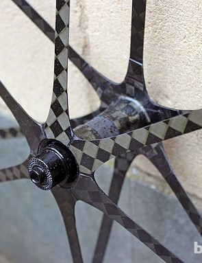 The Mad Fiber clincher road wheelset