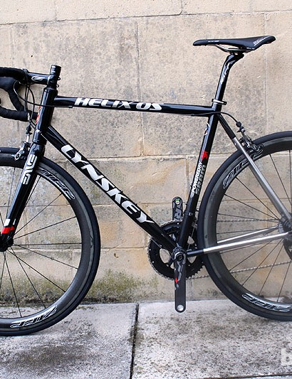 Lynskey typically sell frames only, with complete bikes built to the spec of the customer