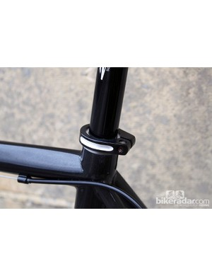 The Helix OS fits 27.2mm seatposts