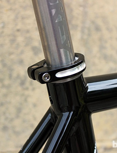 Room for 27.2mm seatposts on the Lynskey Sportive