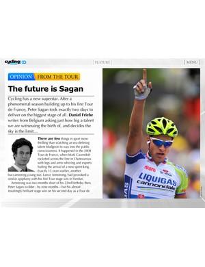 The future is Sagan