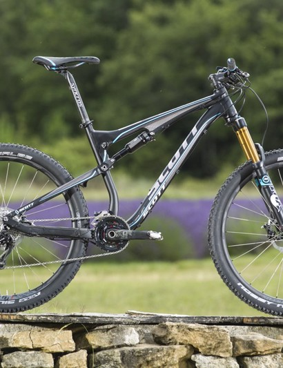 The Scott Genius in 650b (27.in wheel) form, called the 700