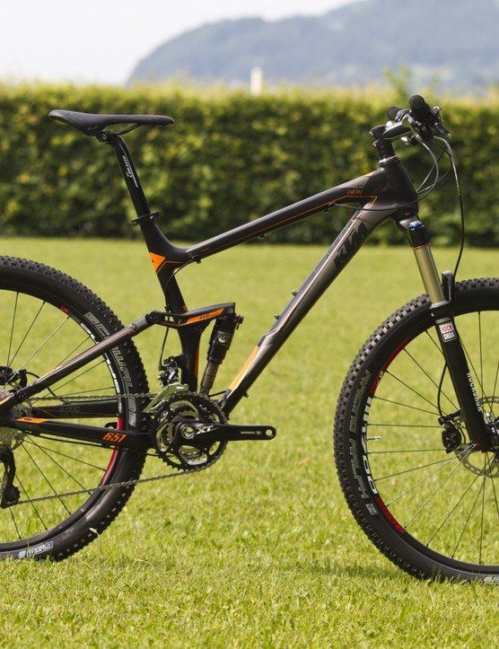 The new standard in trail bikes? The Lycan 651 650B had some unquestionable positives