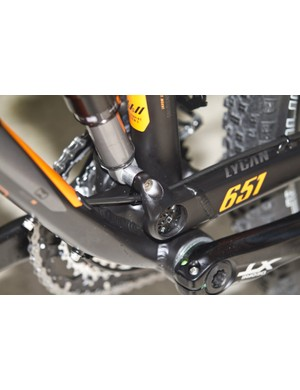 KTM's own PDS suspension design all but eliminates side loads on the shock and gives a smooth linear feel
