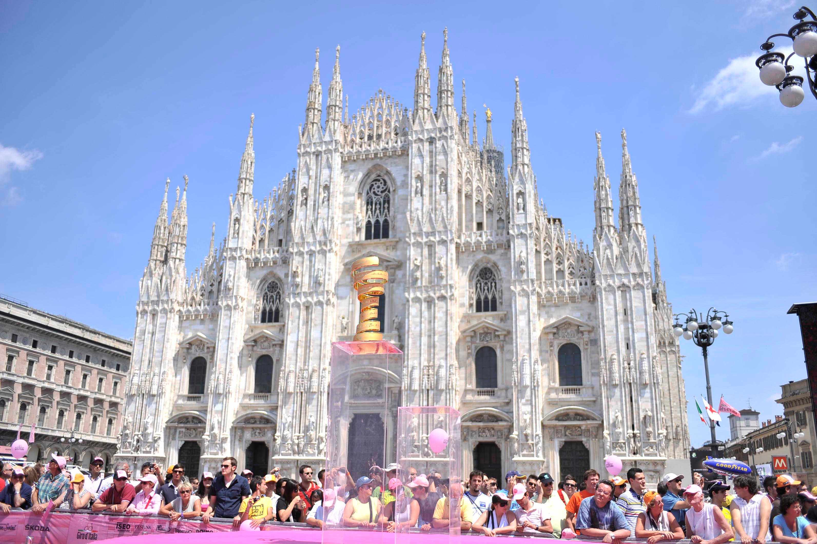 RCS Sport want to bring the splendor of the Giro d'Italia to American riders