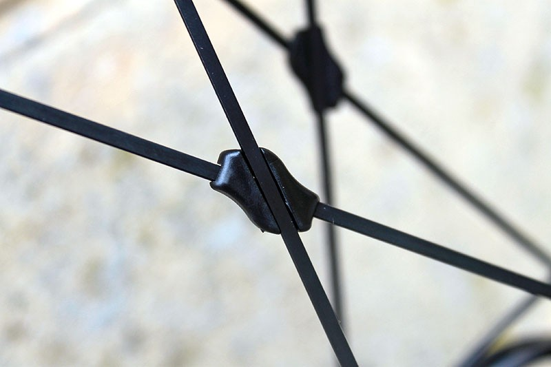 Pro-Lite say fitting spoke braces to their wheels will reduce flex by seven percent and boost speed by three percent