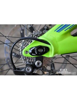 Similar to Scott's Spark, the Gambler offers a wheelbase with two positions – short (0mm) and long (15mm)