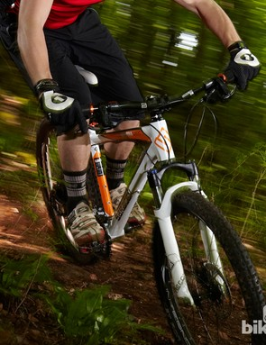 The Saracen Mantra Expert is a menace on the trails – in a good way