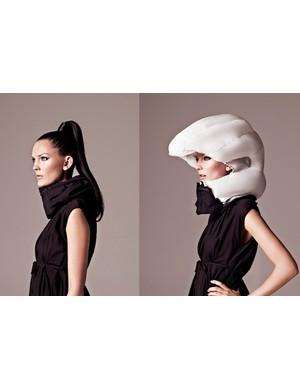 Swedish design firm, Hövding, have built an inflatable helmet