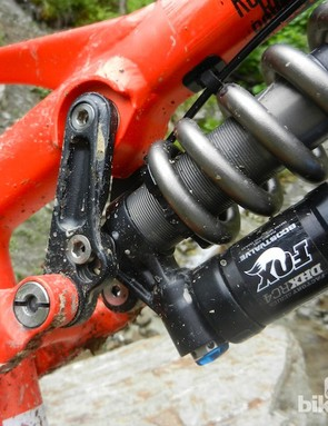 The new Beef Cake features a Fox DHX RC4 shock