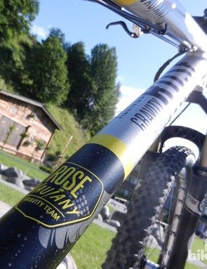 The Bruce 4X has been designed with help from the Rose Vaujany pro gravity team