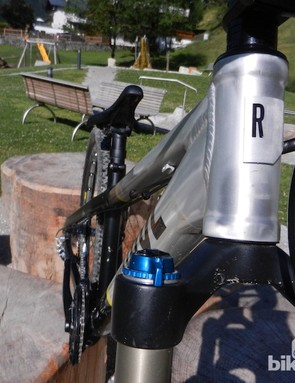 Head tube length varies according to whether you opt for a small, medium or large frame
