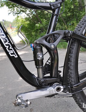 Craig's prototype has the same Maestro linkage found throughout Giant's line of full-suspension bikes