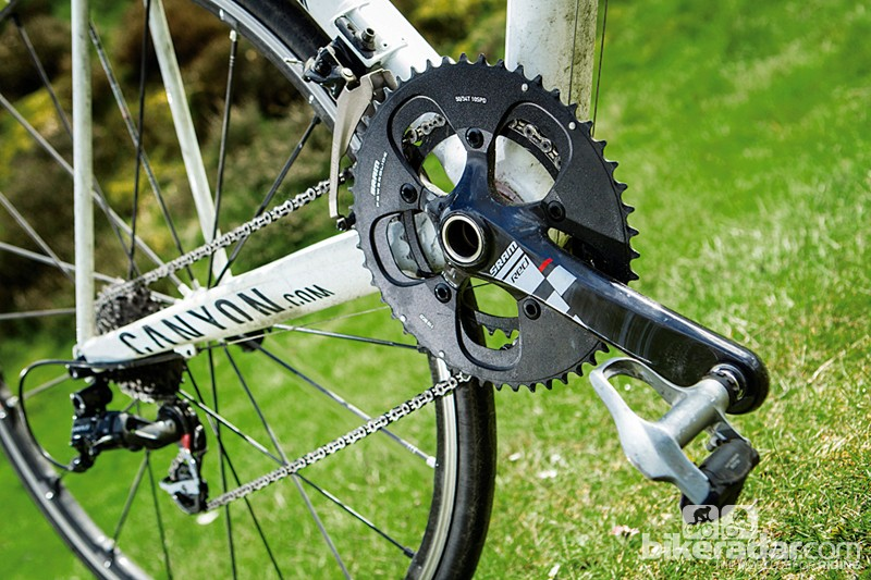 SRAM's Red transmission is the lightest gearset going and is a big part of the ultra-low complete weight