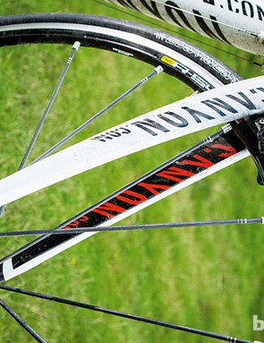 Mavic R Sys wheels are phenomenally light and responsive allies in any anti-gravity fight