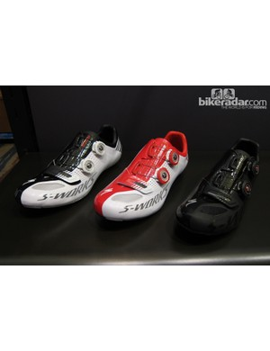 The S-Works road shoe is completely revamped with new last, materials and Boa closure system
