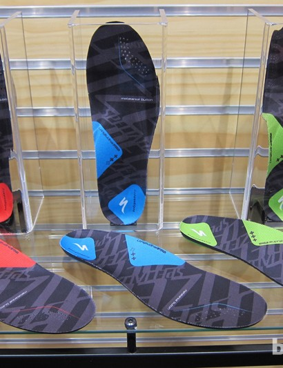 The new shoes are designed to work with a new line of Body Geometry insoles, which are made with new denser, foam said to last three times longer than the previous edition